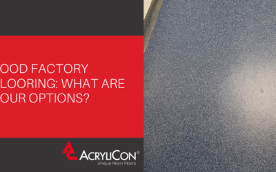Food Factory Flooring: What Are Your Options?