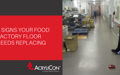 3 Signs Your Food Factory Floor Needs Replacing