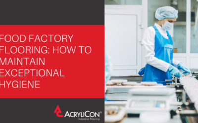 Food Factory Flooring: How to Maintain Exceptional Hygiene